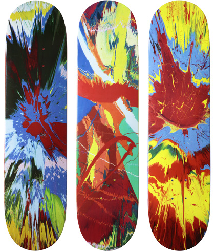 2009: Damien Hirst for Supreme