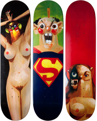 2010: George Condo for Supreme