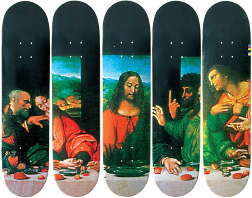 2002: Last Supper Decks