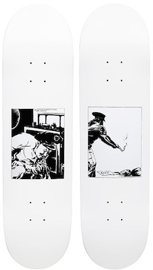 2014: Raymond Pettibon for Supreme